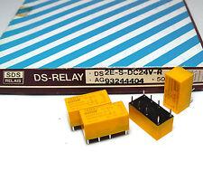 4x SDS Print-relè ds2e-s-dc24v-r, 24 VOLT BOBINA 200 MW, per 2x, NOS