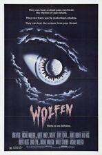 WOLFEN ORIGINAL FOLDED MINT 27X41 MOVIE POSTER 1981 ALBERT FINNEY