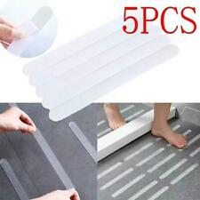 5Pcs Anti Slip Stickers Bathroom Slip Stickers Safety Strips Adhesive Decals