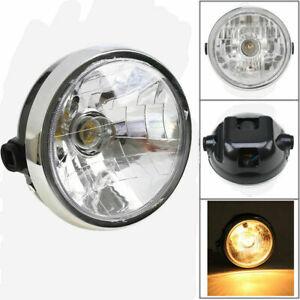 New Headlight Head Lamp Bulb Clear Glass For Yamaha YBR125 2002-2013 Triumph