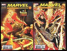 MARVEL UNIVERSE  THE TORCH  LA TORCHE   Série Complète 2 vol. HS 7 & 8   2010