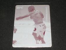 ANTONIO NOGUEIRA 2013 TOPPS MAGENTA PRINTING PLATE CERTIFIED UFC CARD #1/1 RARE