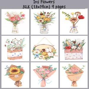 Baohong Painting Tutorial Watercolor Paper Painted Water-soluble Book Line Draft