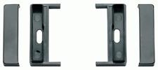 Staffe di fissaggio per autoradio ISO colore nero Audi A2-TT 00>-A3-A4 >01