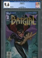 Batgirl #1  (New 52)  FP   CGC 9.6  White Pages