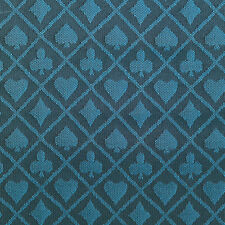 PRO Suited Speed Cloth for Poker Tables - Two-Tone Blue (6 Feet)