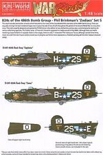 Kits-mundo 1/48 B-24H Liberator 834th Bs, 486th BG Phil Brinkman's 48022