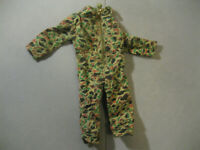 Vintage Ideal 1960s Captain Action Original Sergeant Sgt Fury Camo Jumpsuit READ