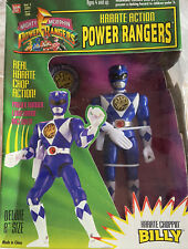 Blue Power Rangers ?Billy? Harate Action 8? Figure.