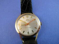 CARAVELLE 1969  TRANSISTORIZED WATCH WITH ACCUTRON STRAP BUCKLE CLEAN DIAL