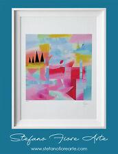 Arte contemporanea firmata a mano Stefano Fiore (litografie, serigrafie, stampe)