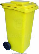 120 Litre Wheelie Bin - Choice of Colours Council Approved EN840 Waste Recycling