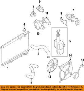 HYUNDAI OEM 13-14 Genesis Coupe Radiator Coolant-Lower Hose 254152M500