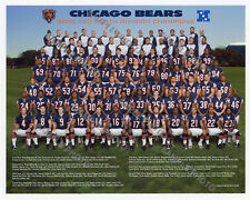 2006 Chicago Bears NFC North Division Champions 8x10 Team Photo