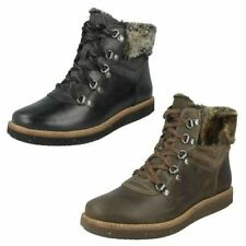Women's Lace Up Ankle Casual Boots