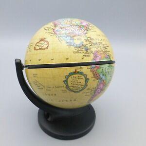 Replogle Wonder Globe Small Desk Size 4.3 inch Antique Style