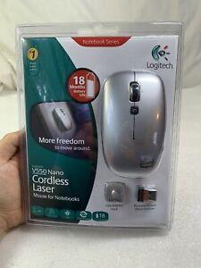 Brand New Logitech V550 Nano Cordless Laser Mouse for Notebooks