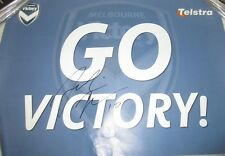 Archie Thompson (Melbourne Victory) signed Victory Grand Final poster (#2108)