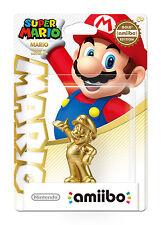NEW Gold Mario Amiibo Walmart Exclusive Figure Nintendo USA Super Party Version