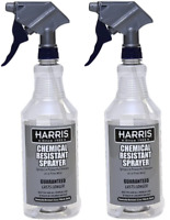 Harris Chemically Resistant Professional Spray Bottle 32 oz. 2-Pack