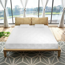 "10"" Queen Size Traditional Firm Memory Foam Mattress 2 Pillows and Cover"