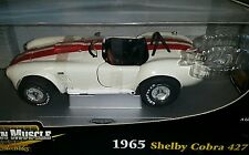 1965 SHELBY COBRA 427 S/C  1:18 RC2  one of 2,500 cream color & red stripes