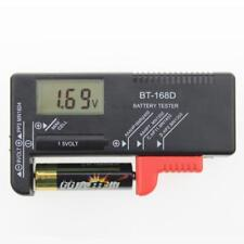 Digital LCD Battery Tester Volt Checker For 9V 1.5V AA AAA Cell BT-168D Easy WT