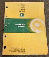 John Deere 8560 8760 8960 Tractor Operator's Manual OMAR111204