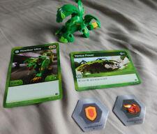 BAKUGAN Battle Brawlers Battle Planet B500 HOWLKOR ULTRA 2 Bakucores & B500 CARD