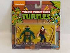 Teenage Mutant Ninja Turtles Classic Miniature Michaelangelo And Casey Jones