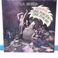 """33T LA BIONDA Disque Vinyle LP 12"""" ONE FOR YOU ME - MOTORS 2473204 Frais Rèduit"""