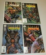 Complete Set Aliens Versus Predators Eternal 1 2 3 4 1998 NM Low Print Run Fabry