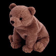 """TY BEANIE BABIES     """"PECAN THE GOLD BEAR""""     MINT WITH MINT TAG"""