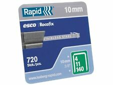 V2A Tacker  Klammern  Rapid  530//10 mm+8mm    2500  Stück  f.PTK19//28  Rapid 553