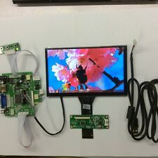 7 inch 4 Point Capacitive Touch Screen 1024x600 IPS HDMI VGA Car Monitor Display