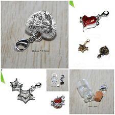 AUSWAHL ++ Charms Anhänger für Bettelarmband HalsketteTräger wish Wunschbox Herz