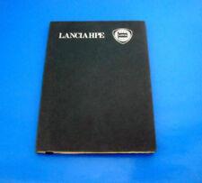 Lancia HPE 1600 2000 Libretto Uso e Manutenzione 1978 Italiano Raro!