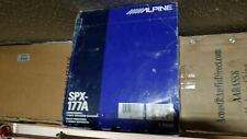 Alpine SPX-177A  NEW 2-way Component Speaker System  Pair.NEW ☆ NEW ☆ NEW  ☆