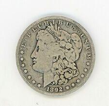 1892-S MORGAN SILVER DOLLAR----RAW