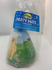 Teletubbies Party Hats 8 Pieces 1998