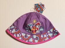 New Girls Kids Paw Patrol Purple Children Cute Light Bucket Cap Sun Hat Official