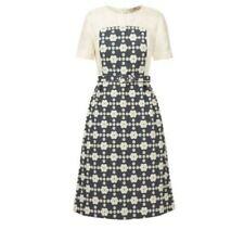 ORLA KIELY  Daisy Gingham Short Sleeve Dress -Pebble