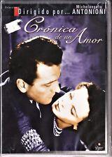 CRÓNICA DE UN AMOR de M. Antonioni. Tarifa plana en envío dvd España, 5 €