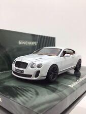Minichamps 1/43 2009 Bentley Continental SuperSports - MIB