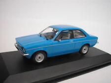 Opel Kadett C Saloon 1973 - 1977 Blue 1/43 Minichamps 430045600 NEW