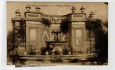 FOUNTAIN IN ST ANTONIO GARDEN: Malta postcard (C30504)