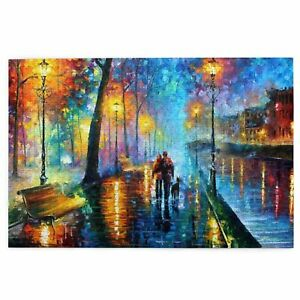 Art Painting Wooden Jigsaw Puzzle Adults Kids Gift Educational Game DIY 3size