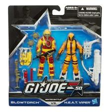 1:18 G.I. Joe 2- Pack Heated Battle Blowtorch vs. H.E.A.T. Viper Action Figure