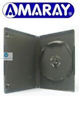 200 x 4 Way Disk Stack Holding Hub Black DVD 14mm Spine Empty New Case Amaray