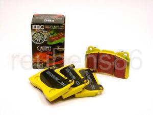 EBC YELLOWSTUFF HIGH FRICTION PERFORMANCE BRAKE PADS STREET TRACK REAR DP4680R